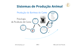 Copy of 8Produção de Bovinos de Carne - Fisiologia da Produção de Carne