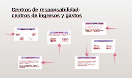 Copy of Centros de responsabilidad: centros de ingresos y gastos