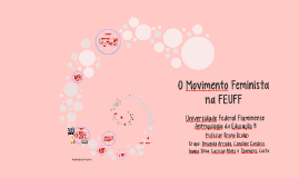 O Movimento Feminista na UFF
