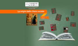 02 - Le origini dello Stato sociale
