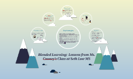 Blended Learning:  Lessons from Ms. Cooney's Class at Seth L