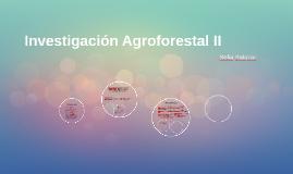 Investigación Agroforestal II