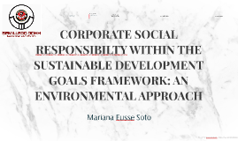 Copy of CORPORATE SOCIAL RESPONSABILTY WITHIN THE SUSTAINABLE DEVELO