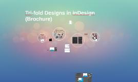 Tri-fold Designs in inDesign (Brochure)