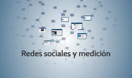 Redes sociales y medición