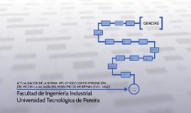 ACTUALIZACIÓN DE LA NORMA  NTC-GP1000:2009 E INTEGRACIÓN DEL