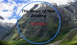 The Music of New Zealand