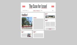 Make the Case: Israel