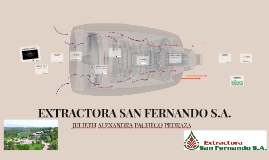 EXTRACTORA SAN FERNANDO S.A.