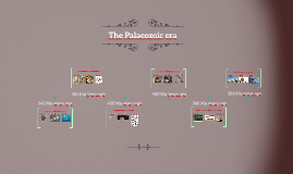 The palaeozoic era organisms