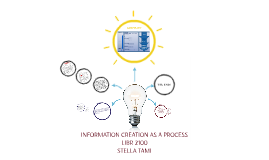 INFORMATION CREATION AS A PROCESS