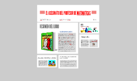 Copy of EL ASESINATO DEL PROFESOR DE MATEMATICAS