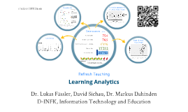 Refresh Teaching, Learning Analytics