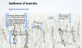 Settlement of Australia
