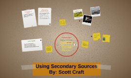 Using Secondary Sources