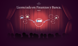 Licenciado en Finanzas y Banca.