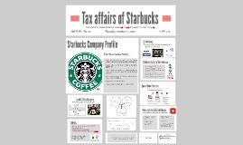 Tax affairs of Starbucks