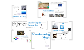 Manufacturing Magic –  The Hard Work of Creating an Innovation Culture