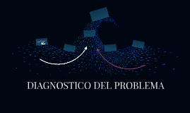 DIAGNOSTICO DEL PROBLEMA