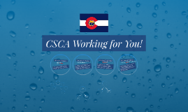 Copy of CSCA Working for You!