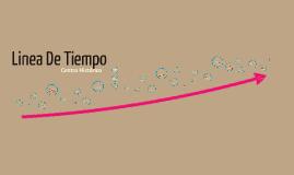 linea de tiempo Centro Historico