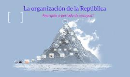 Copy of Organización de la República