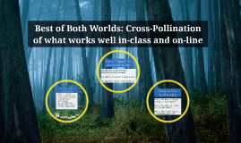 Copy of Best of Both Worlds: Cross-Pollination of what works well in