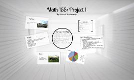 Math 155: Project I
