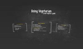 Being Vegetarian