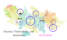 Disaster, Vulnerability, and resilience