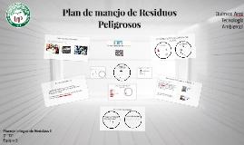 Plan de manejo de RP