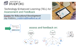 TEL for Assessment and Feedback