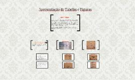 Apresentação de Tabelas e Figuras