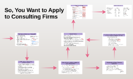 So, You Want to Apply to Consulting Firms