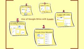 Use of Google Drive with iLearn