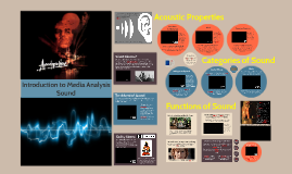Intro to Media Analysis - Sound