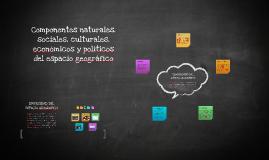 Copy of Componentes naturales, sociales, culturales, económicos y p