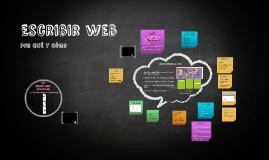 Escribir web