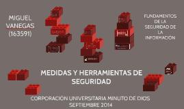 MEDIDAS Y HERRAMIENTAS DE SEGURIDAD