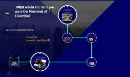 What would you do if you were the President of Colombia?