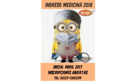 Ingreso Medicina 2016
