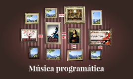 Copy of Música programática