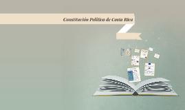 Constitución Política de Costa Rica