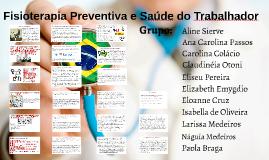 Copy of Fisioterapia Preventiva e Saúde do Trabalhador