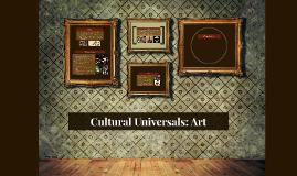 Cultural Universals: Art
