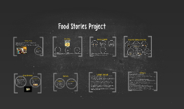 Food Stories Project