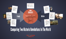 Comparing Two Historic Revolutions In The World