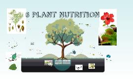 IGCSE UNIT 6 PLANT NUTRITION 2015-16