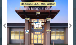 8th Grade ELA - Mrs. Wilson
