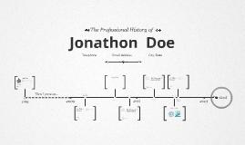 Timeline Prezumé de Juan Camilo Arango